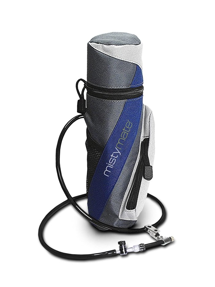 Amazon.com : MistyMate Personal Mister This personal mister helps us survive arid dry hot temperatures. Whether outside, or creating a make-shift evaporative cooling system inside the bus using a vent fan.