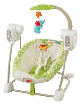 Fisher-Price Space Saver Swing and Seat, Rainforest Friends