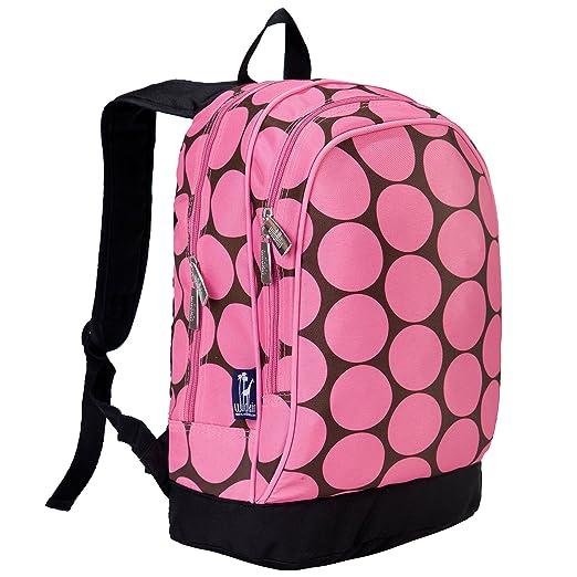 Wildkin Big Dots Sidekick Backpack, Pink