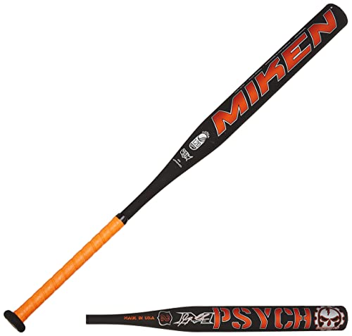 Miken Psycho Supermax USSSA Slowpitch Softball Bat (1-Piece)