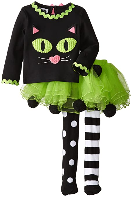 Mud Pie Little Girls' Cat Tutu Set