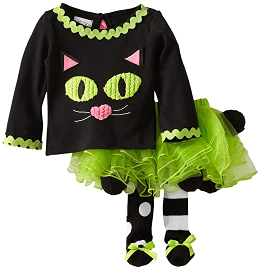 Mud Pie Baby-Girls Newborn Cat Tutu Set
