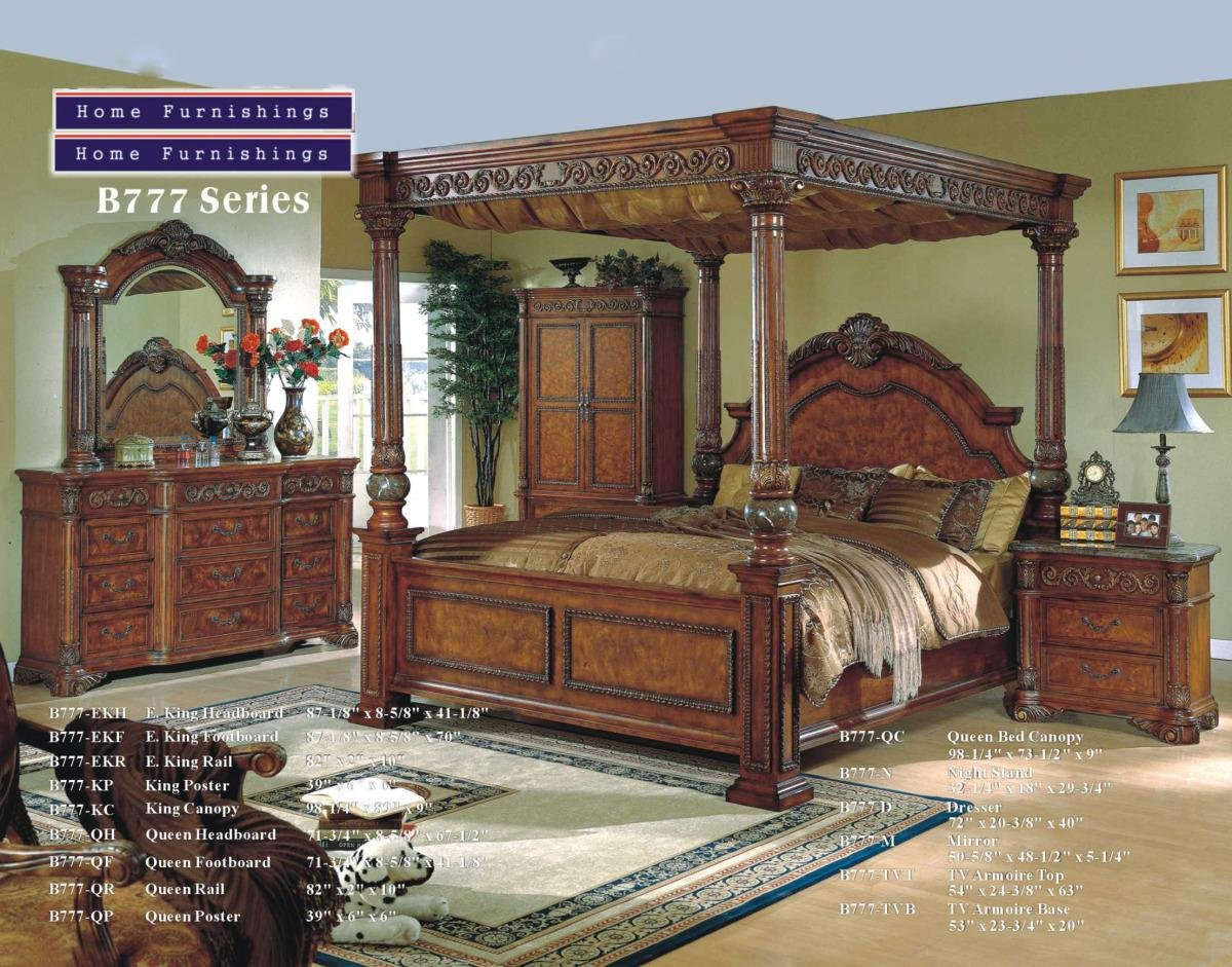 King Size Canopy Bed