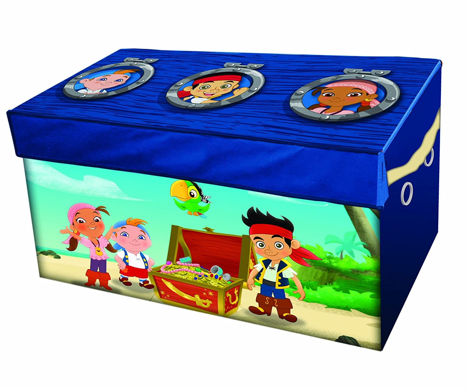 Jake and the Never Land Pirates Collapsible Storage Trunk
