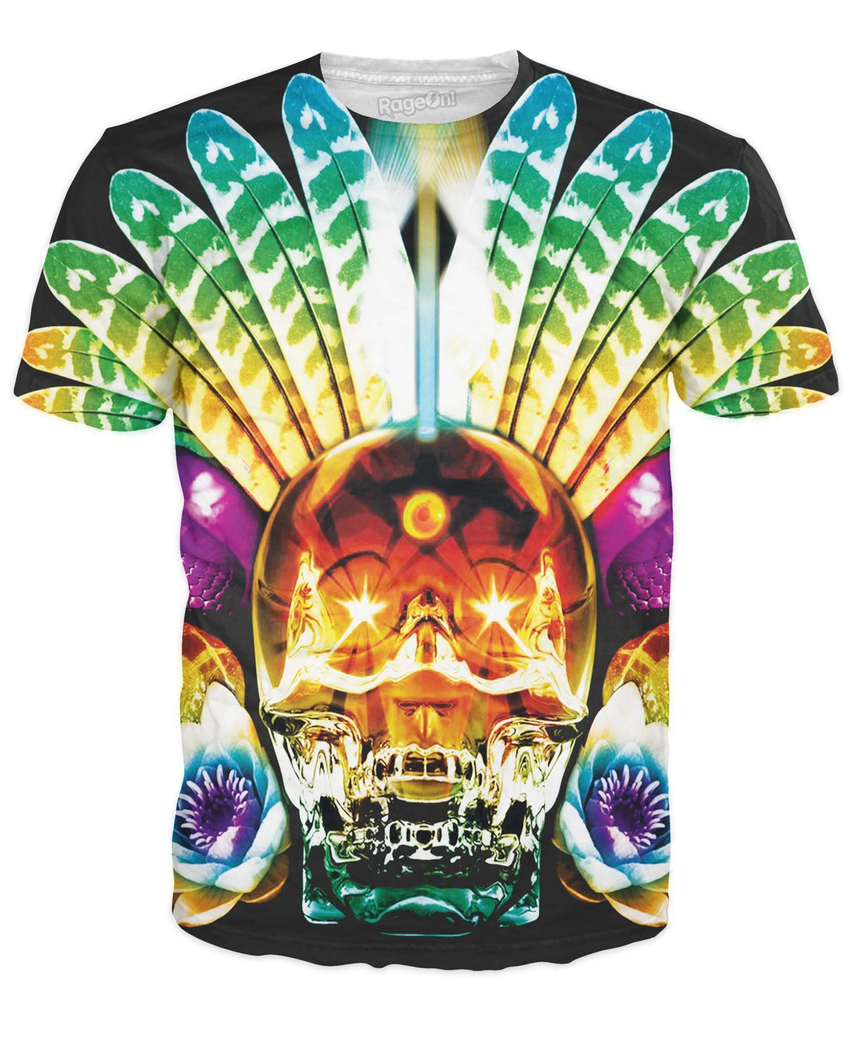 Men's Skull T-Shirt Creative Design Tees