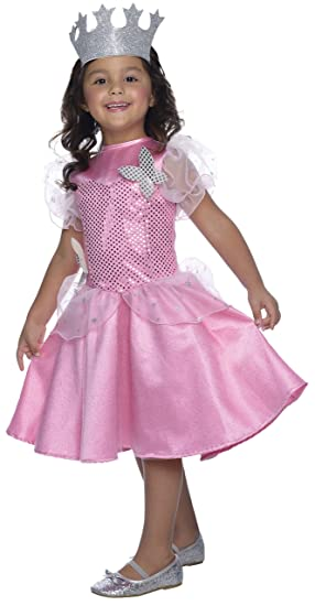 Rubie's Costume Wizard of Oz Glinda Sequin Dress Child Costume, Medium