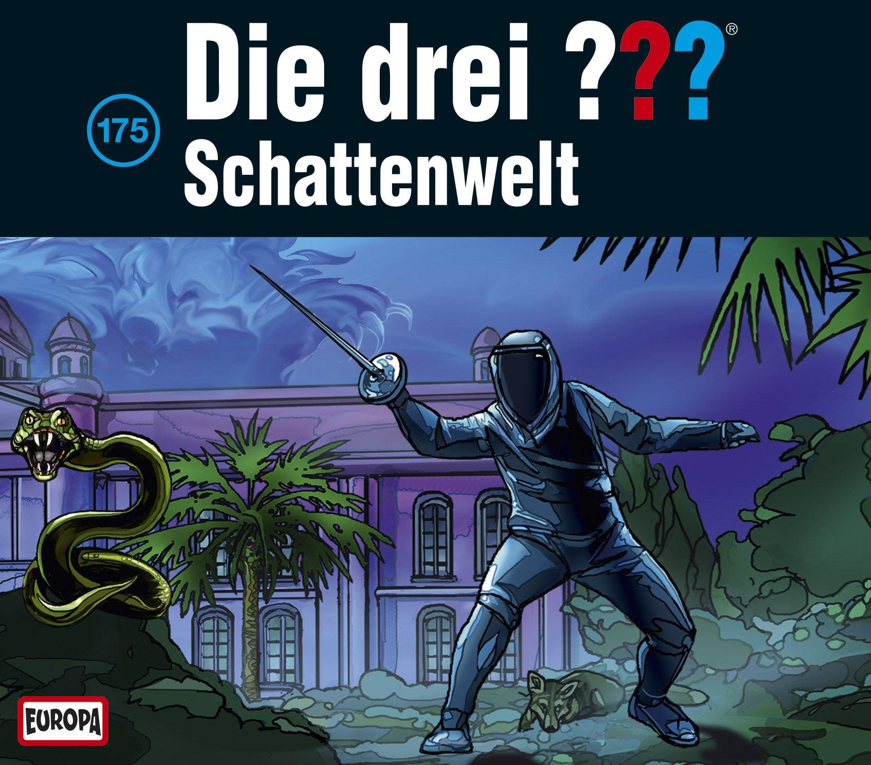 Die drei ??? (175) Schattenwelt - Europa 2015