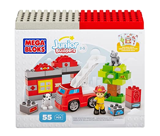 Building Blocks Fire Station Rescue