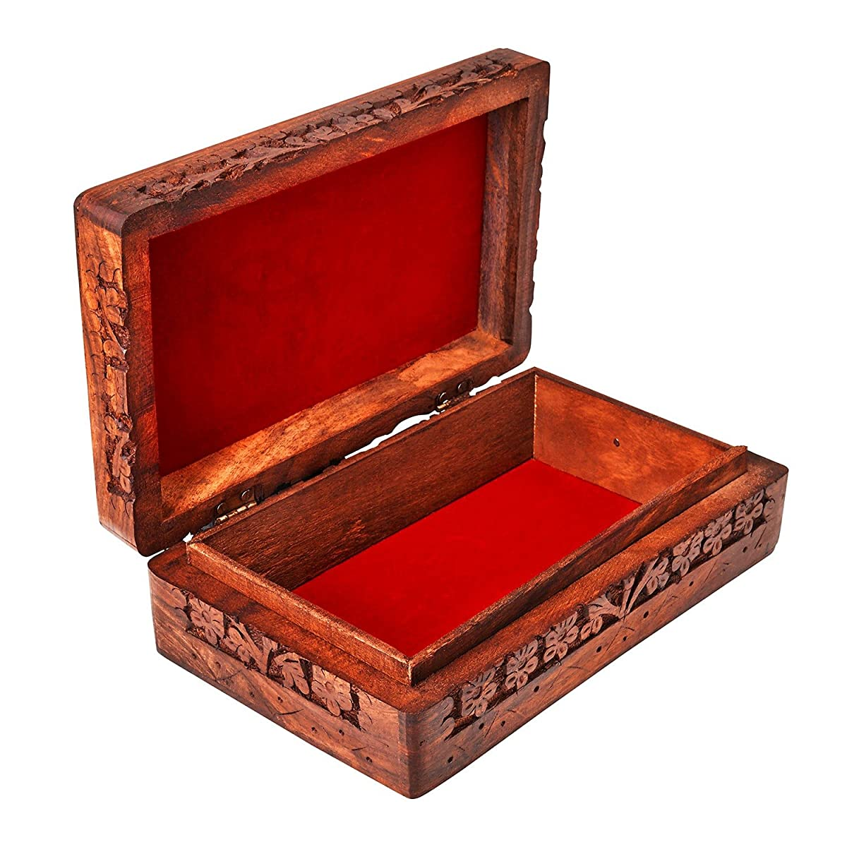 Handmade Decorative Wooden Jewelry Box Jewelry Organizer