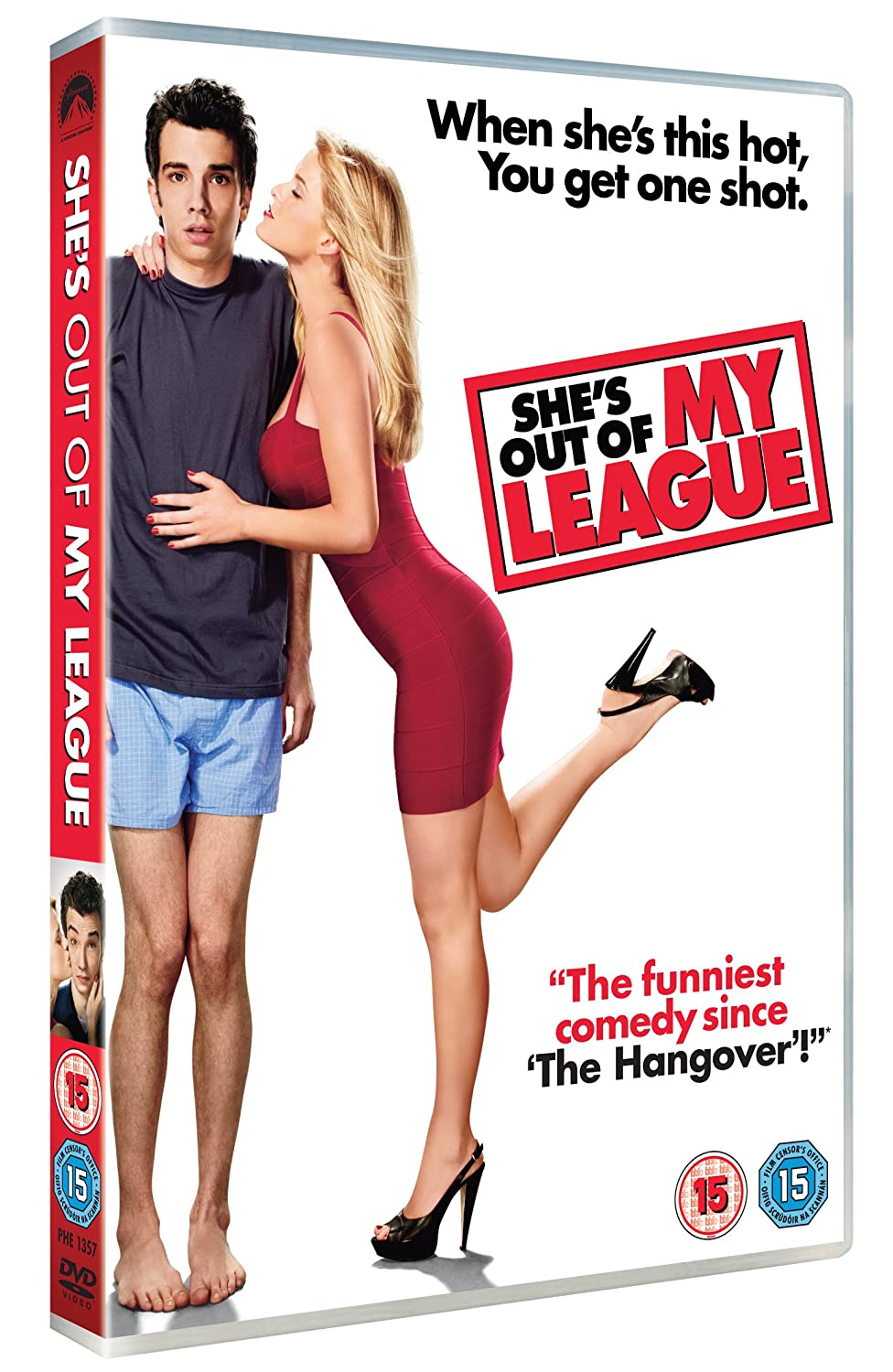 review she s out of my league Kirk can't believe it when a successful an incredibly gorgeous babe, falls for him now he has to figure out how to make the relationship work, even though she's totally out of his league.