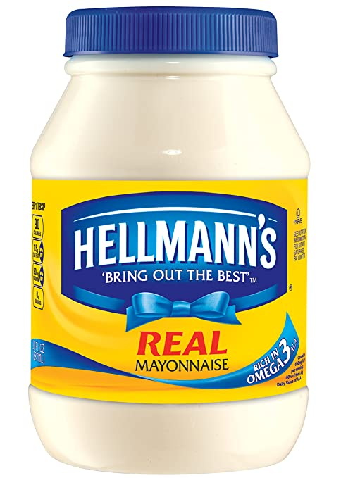 Hellmann's Mayonnaise, Real 30 oz