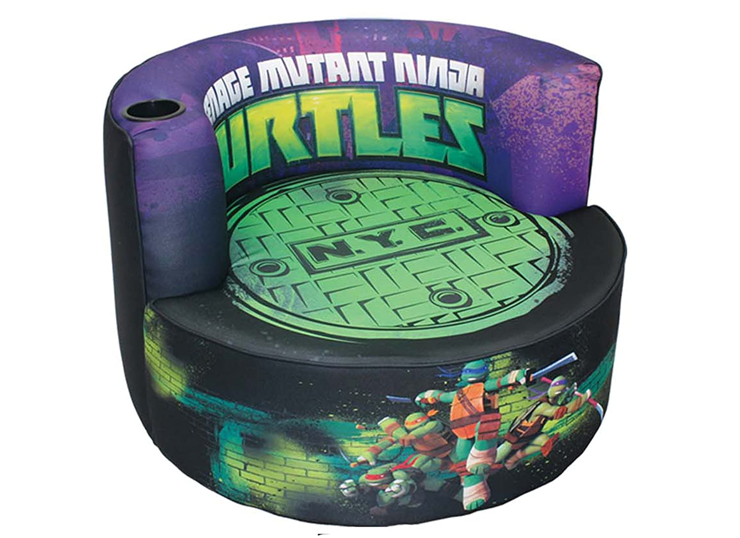 TMNT N.Y.C Kids Swivel Redondo Chair
