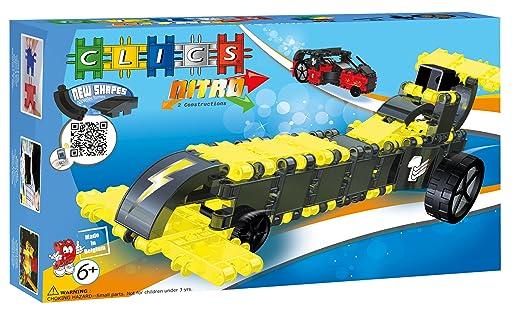 CLICS TOYS Nitro Toy, 100-Piece