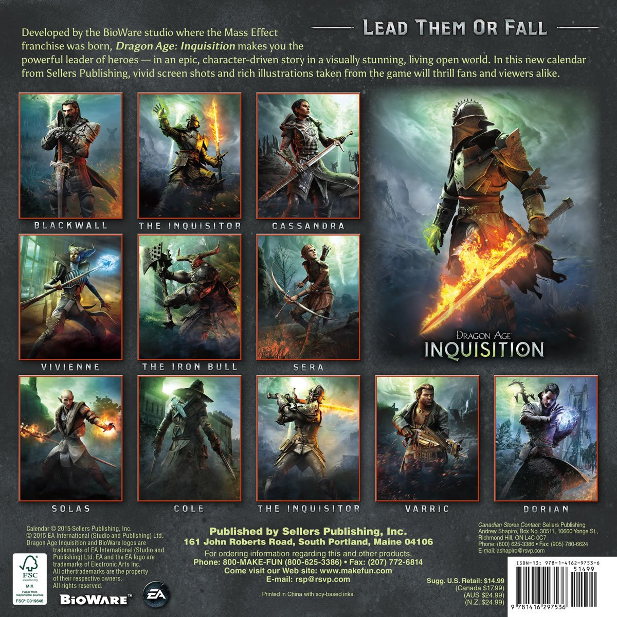 Images And Details For Dragon Age Inquisition 2016 Wall