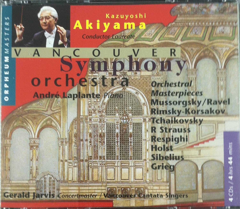 Orchestral Masterpieces (Akiyama, Vancouver Symphony Orchestra)