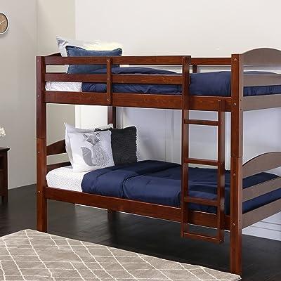 Walker Edison Twin Bunk Bed