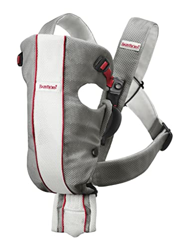 BABYBJORN Baby Carrier Original- Gray/White, Mesh (also available in black)