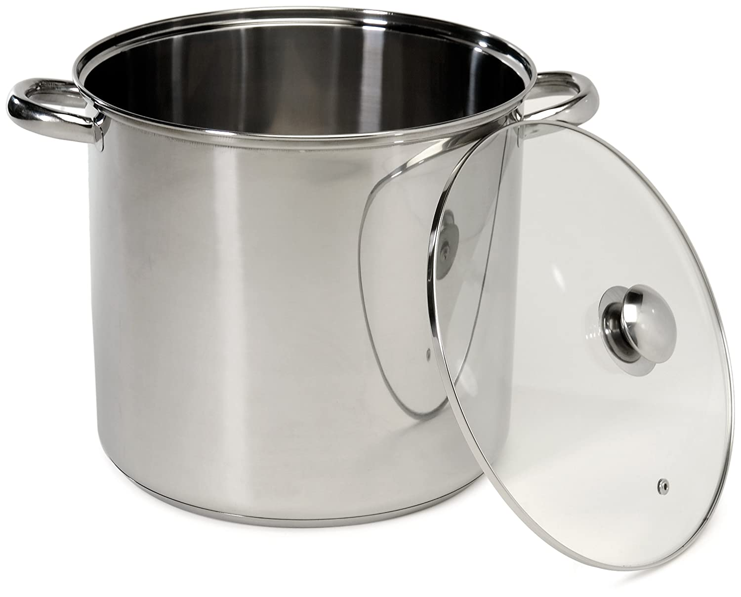 Excelsteel 16 Quart Stainless Steel Stockpot With Encapsulated Base, 4.5 stars on Amazon