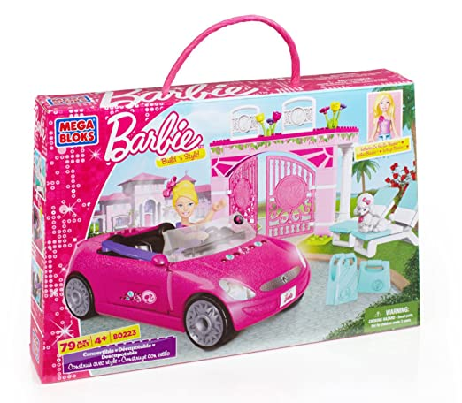 Mega Bloks Barbie Convertible