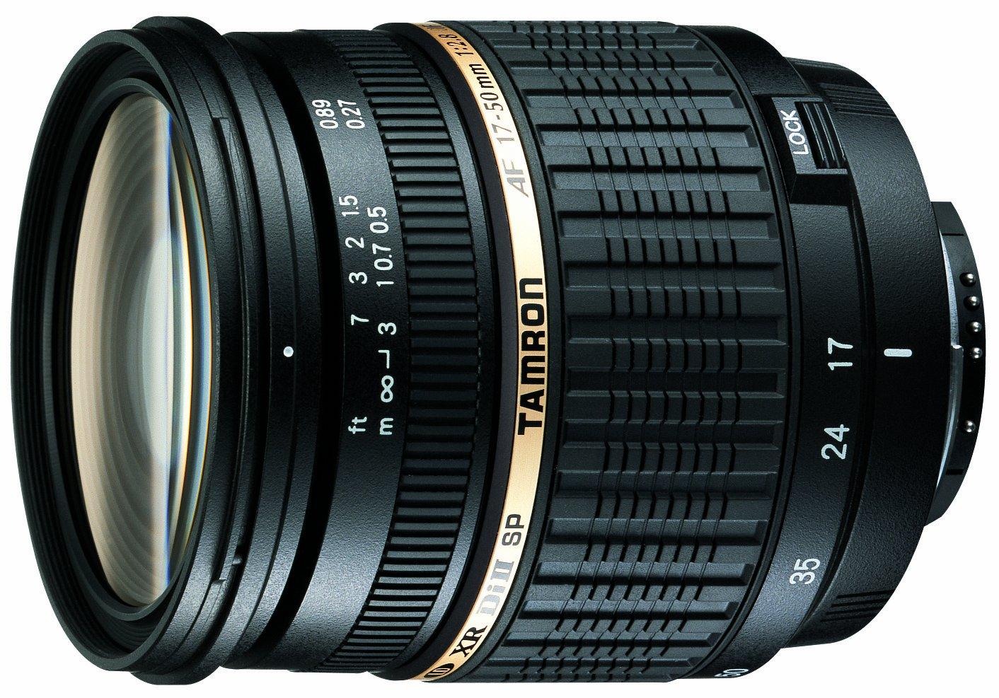 Tamron SP AF 17-50mm f/2.8 XR Di II lens