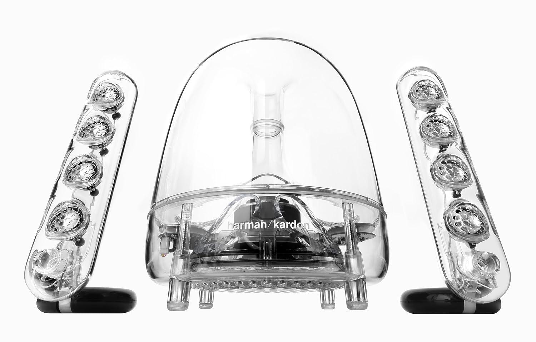 Harman Kardon Soundsticks Iii Led Desktop Speaker System Transparent Brand New