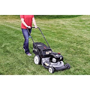 Craftsman 37430 21 Inch 140cc Briggs and Stratton Gas Powered 3-in-1 Push Lawn Mowers review