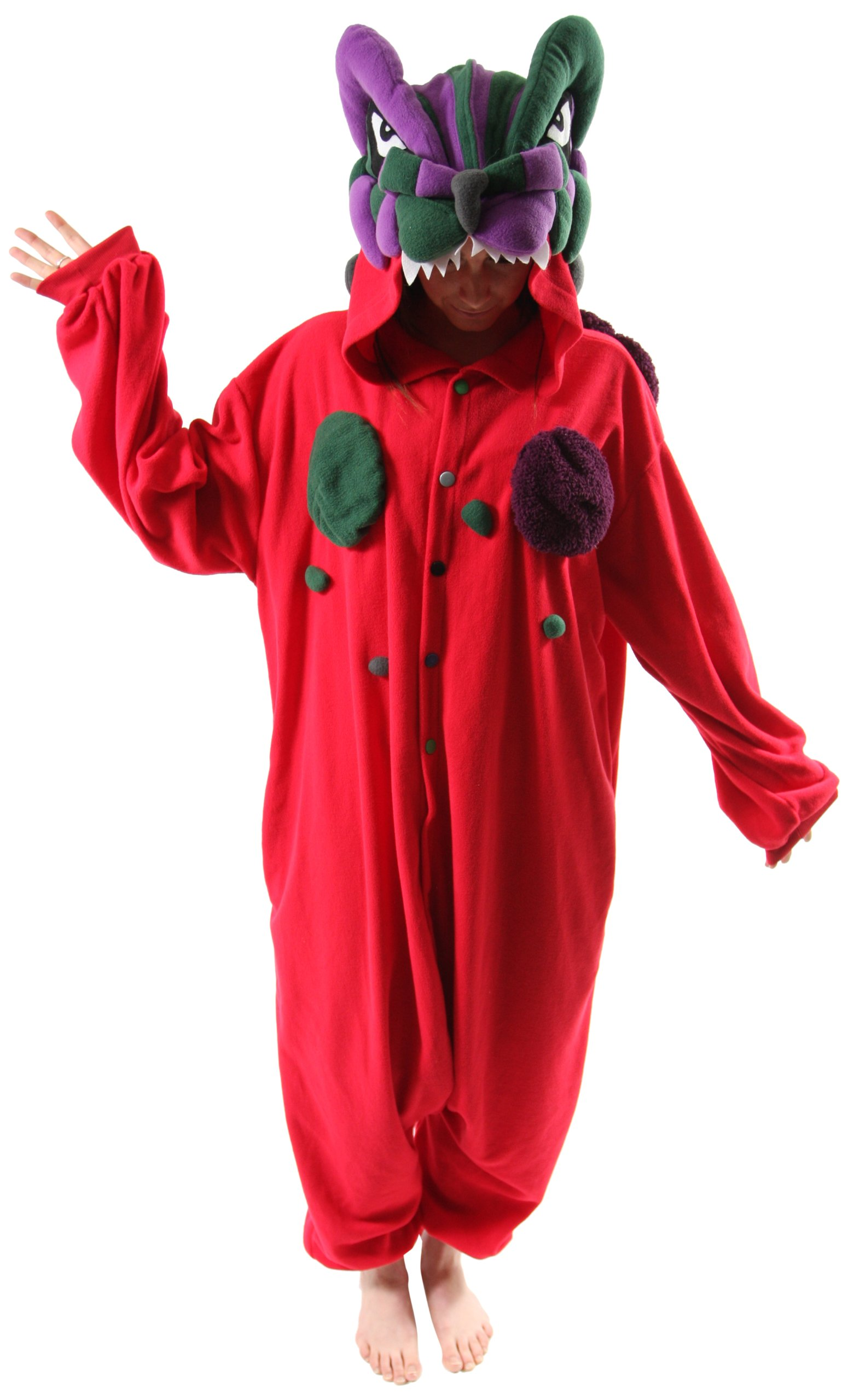 Bcozy Women's Kaijyuu Red Adult Sized Costumes