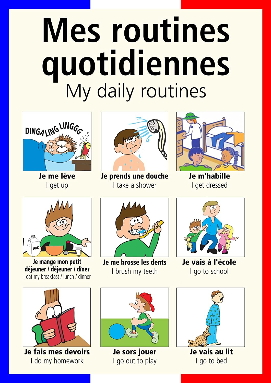 French Airport Vocabulary