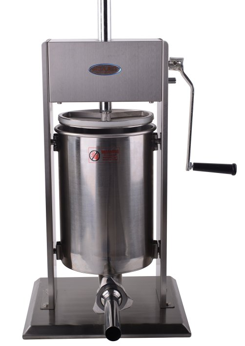 Hakka 25 Lb/12 L Sausage Stuffer 2 Speed Stainless Steel Vertical Sausage Maker