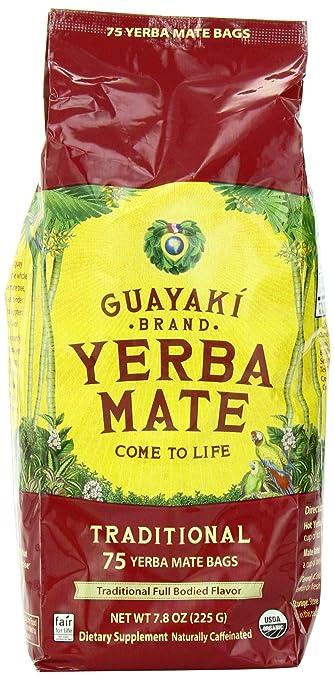 Guayaki Traditional Mate Tea 75 Bags