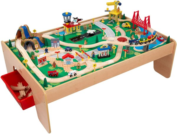 Train set table for toddlers