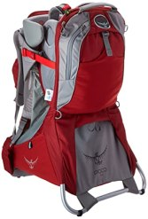 Osprey Packs Poco - Plus Child Carrier (2015 Model) (Romper Red, One Size)