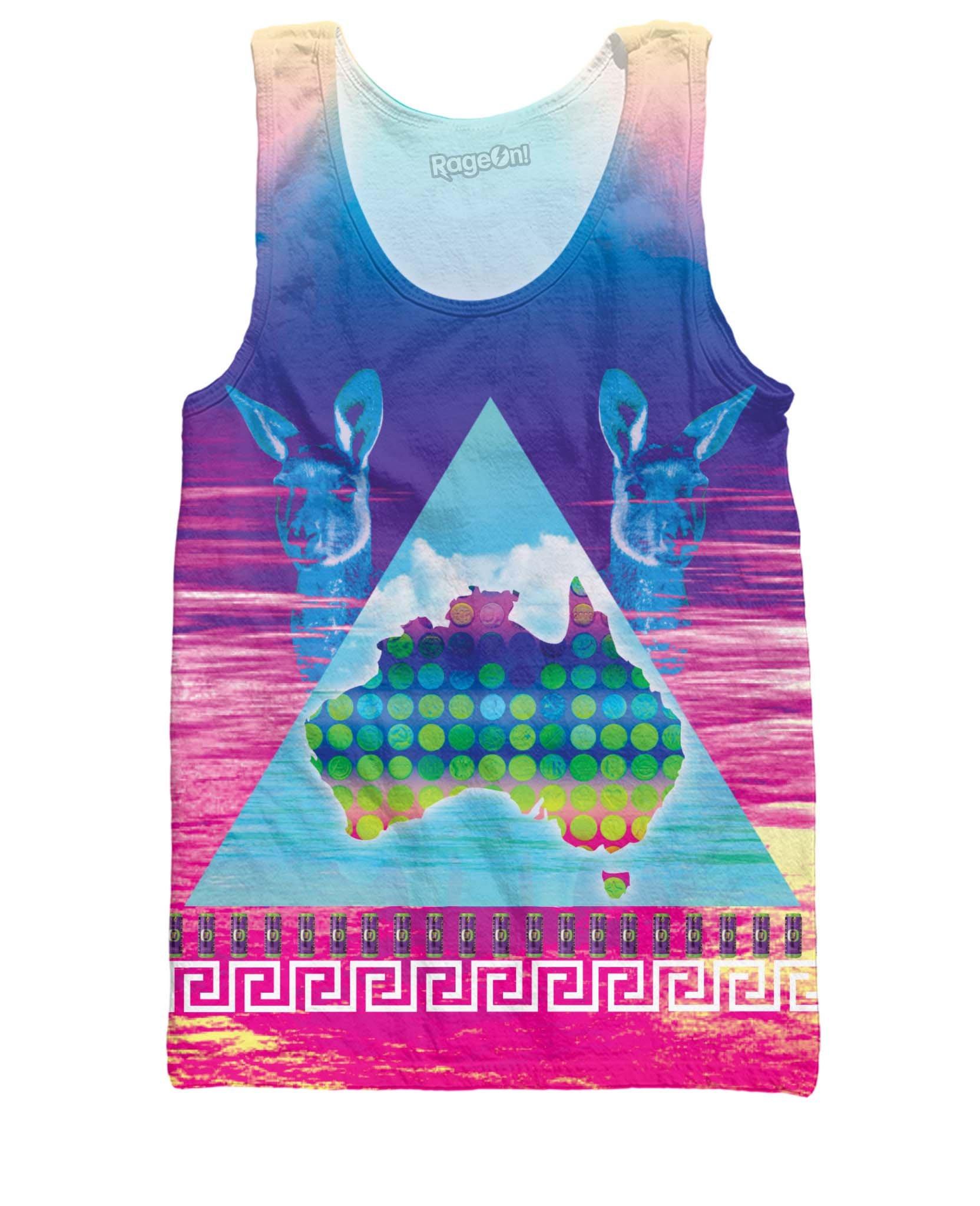 Australian Ecstasy Tank Top Neon Shirt