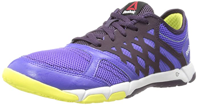 Reebok Women's One TR 2.0 Cross-Training Shoe,Ultima Purple/Portrait Purple/High Vis Green/White,9 M US