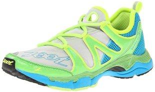 Zoot Women's W Ultra Kane 3.0 Running Shoe,Grey/Green Flash/Atomic Blue,9 M US