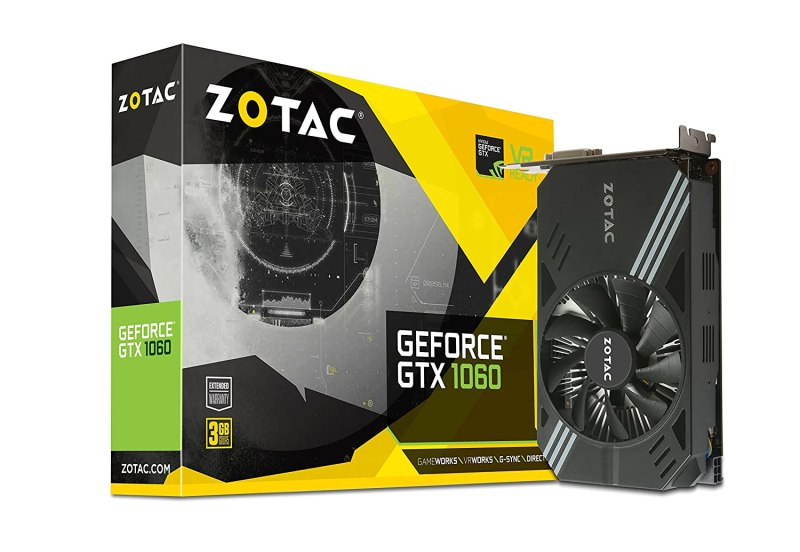 gaming pc best graphics card zotac gtx 1060 3GB