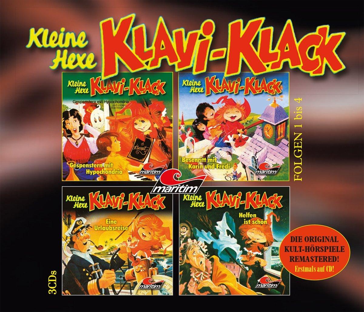 Kleine Hexe Klavi-Klack (1) Gespenstern mit Hypochondria - maritim 1979 / 2016