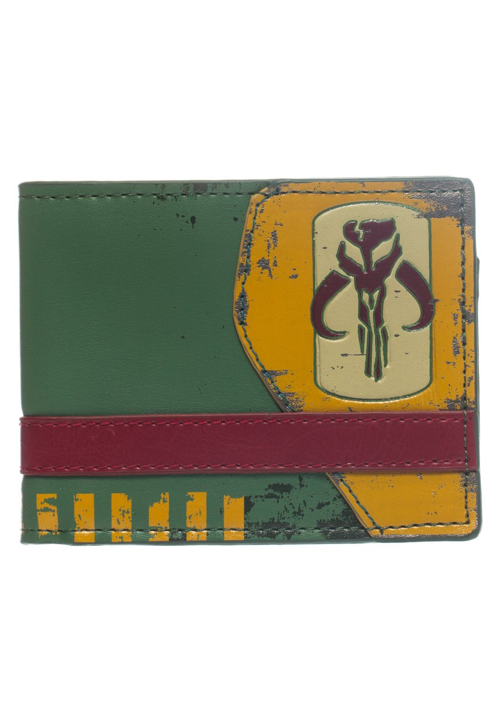 Star Wars Mandalorian Green Bi-Fold Wallet