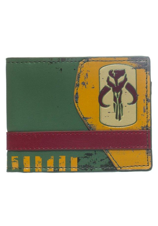 Star Wars Mandalorian Green Bi-Fold Wallet