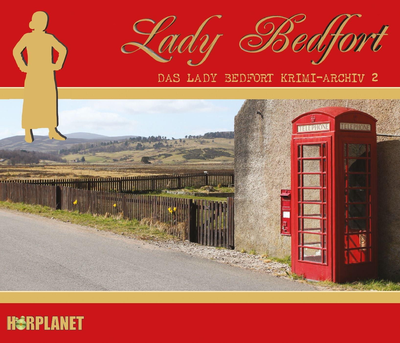 Lady Bedfort - Krimi-Archiv 2 (Hörplanet)
