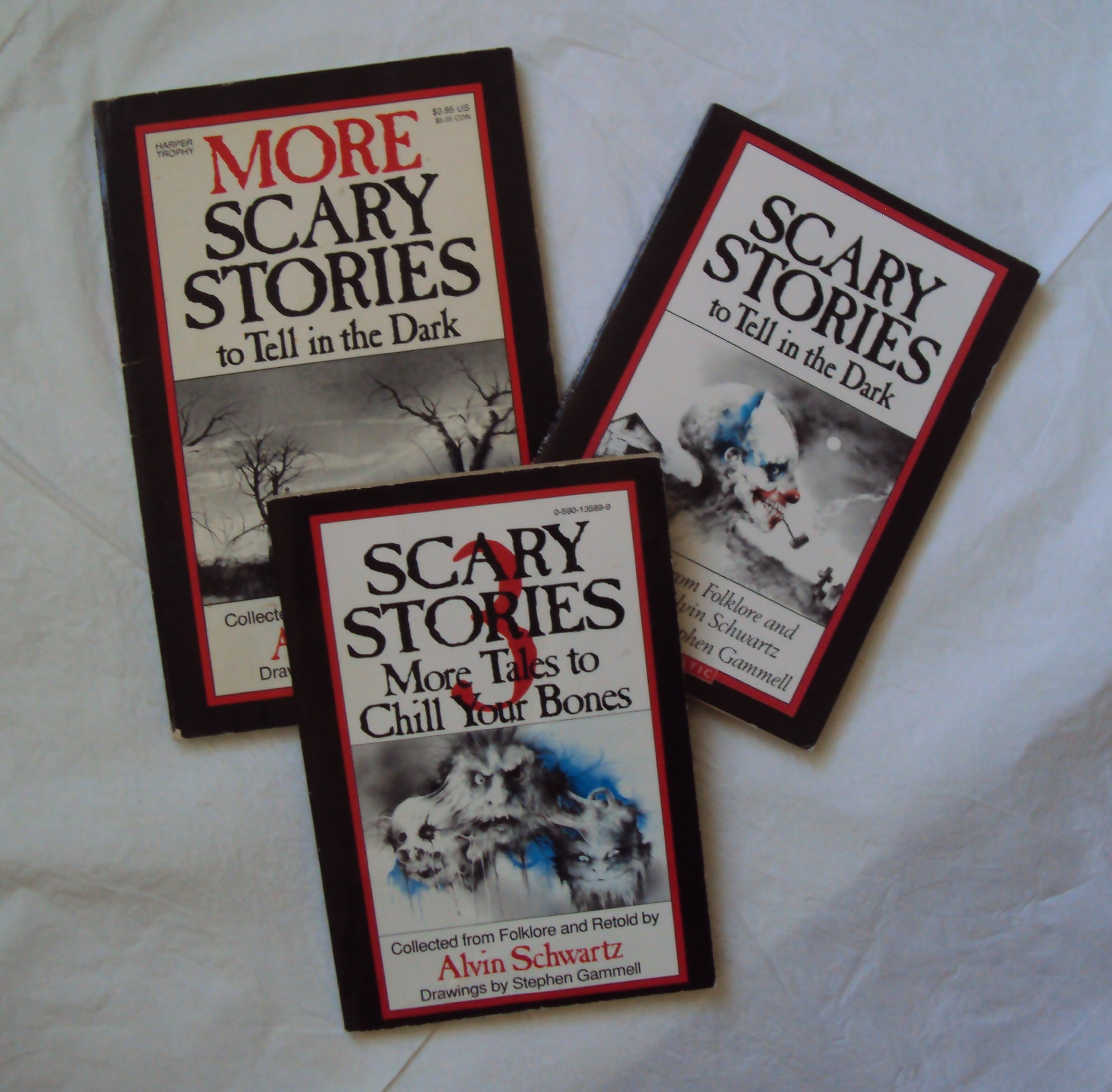 scary stories by alvin schwartz