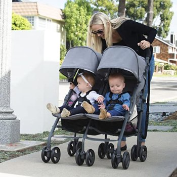 best-lightweight-double-umbrella-strollers-JOOVY-Twin-Groove