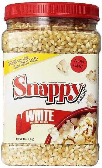 Snappy White Popcorn