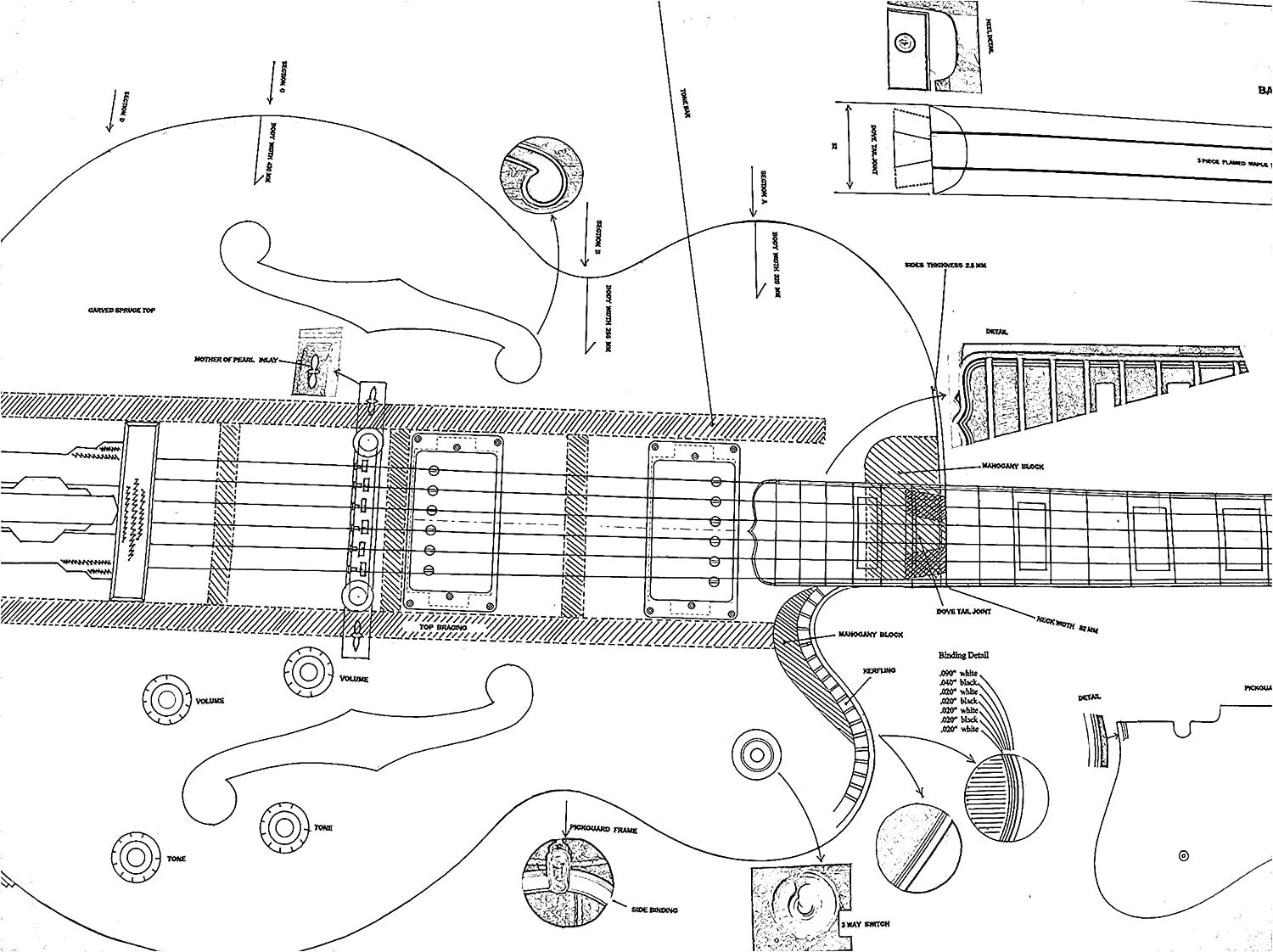 Ideas Electric Guitar Design Plans