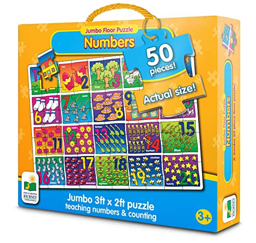 The Learning Journey Jumbo Floor Puzzles - Number Floor Puzzle
