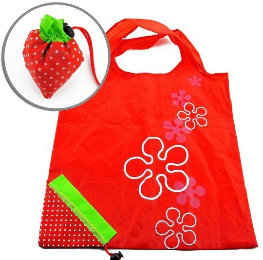 Strawberry Reusable Tote Bag