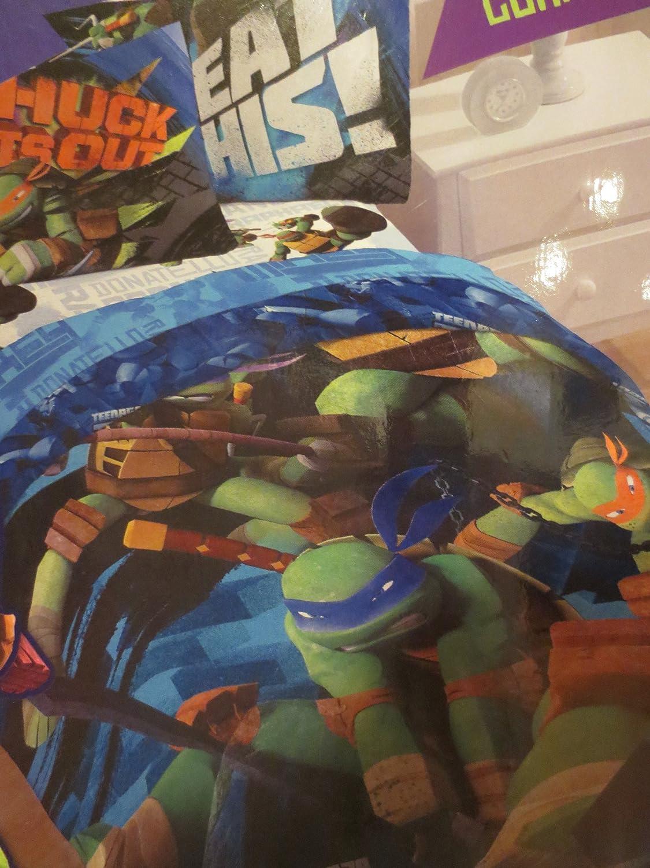 Teenage Mutant Ninja Turtles Twin Bed Set