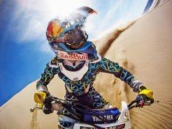 GoPro Hero captura moto