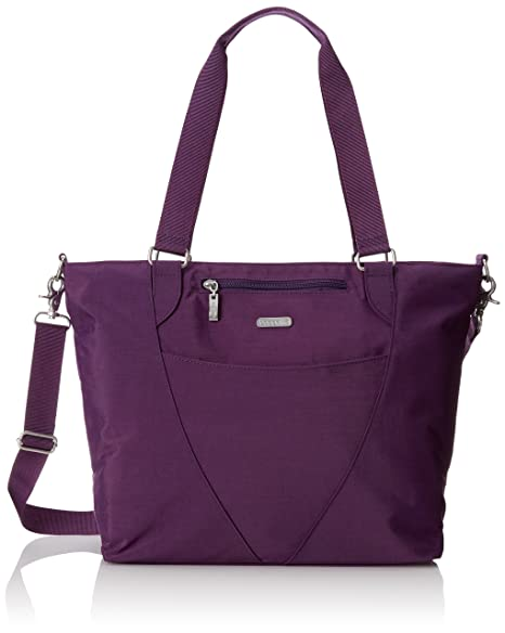 Baggallini Avenue Travel Tote, Violet, One Size