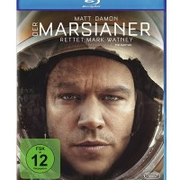 Der Marsianer / Ridley Scott. Darst.: Matt Damon, Jessica Chastain, Kate Mara [...]